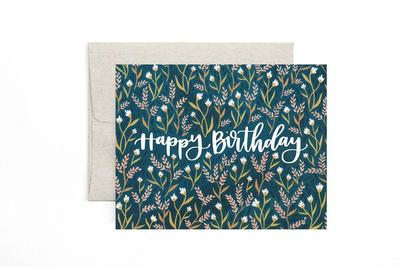 Greeting Card - Birthday Field