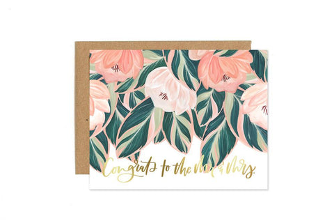 Greeting Card - Congratulations Mr. & Mrs.