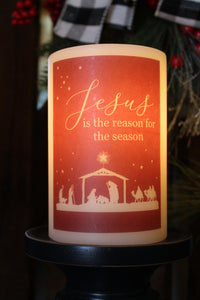 Candle Sleeve - Jesus Reason Season
