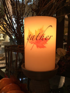 Candle Sleeve - Gather