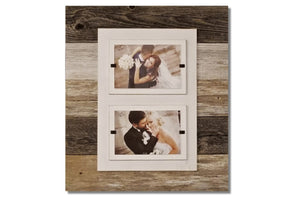 "Picture Frame - Double 4"" x 6"""