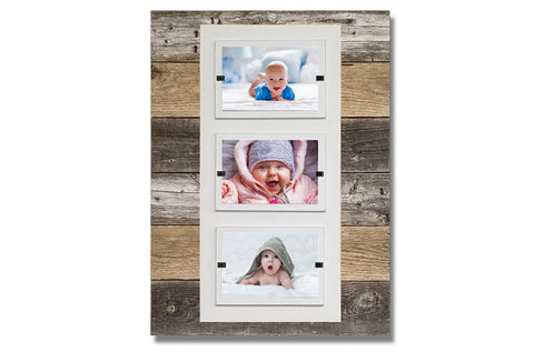 "Picture Frame - Triple 4"" x 6"""