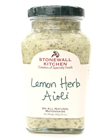 Stonewall Kitchen - Lemon Herb Aioli 10.25 oz.