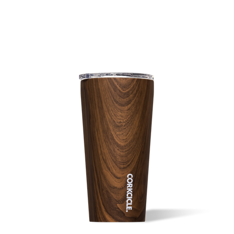 Tumbler - Walnut Wood - 16 oz.