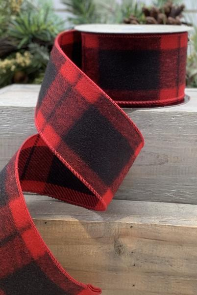 Ribbon - Plaid Flannel