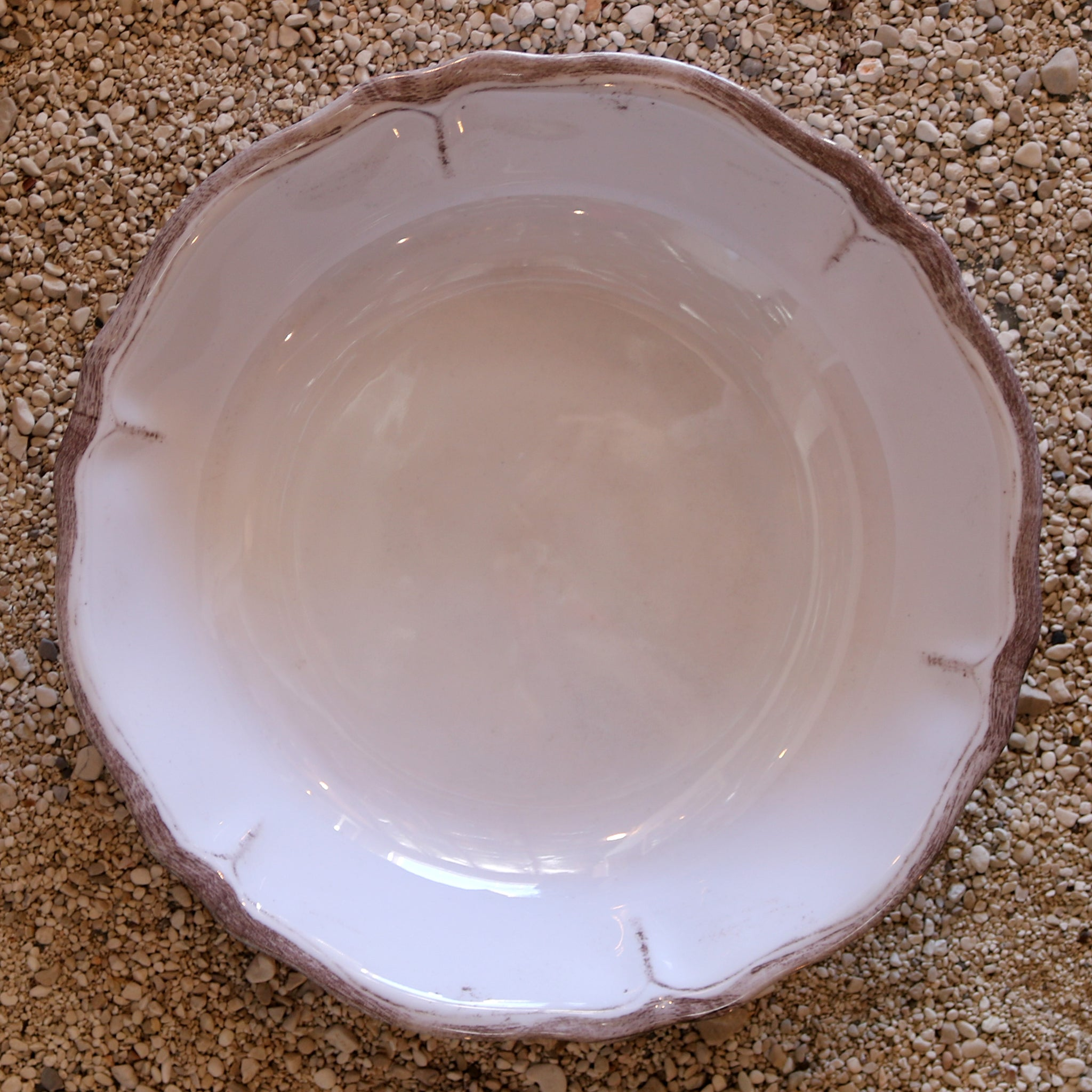 Salad Bowl - Rustica Antique White