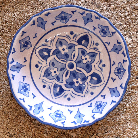 Salad Bowl - Moroccan Blue