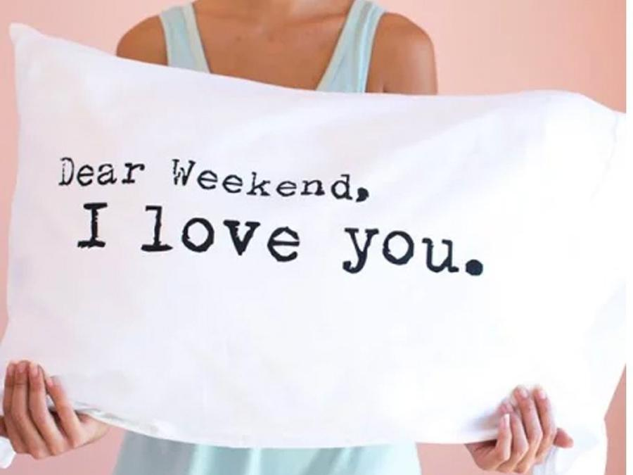 Pillowcase - Dear Weekend, I Love You - Single