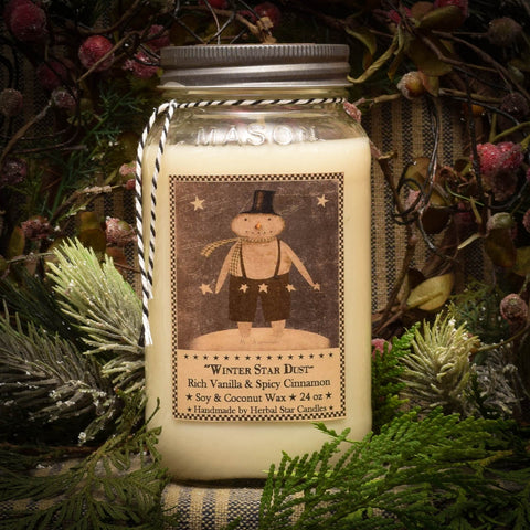 Winter Star Dust - 24 oz. Candle