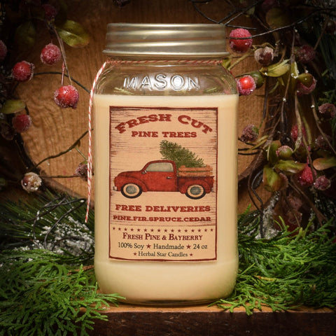 Fresh Pine & Bayberry - 24 oz. Candle