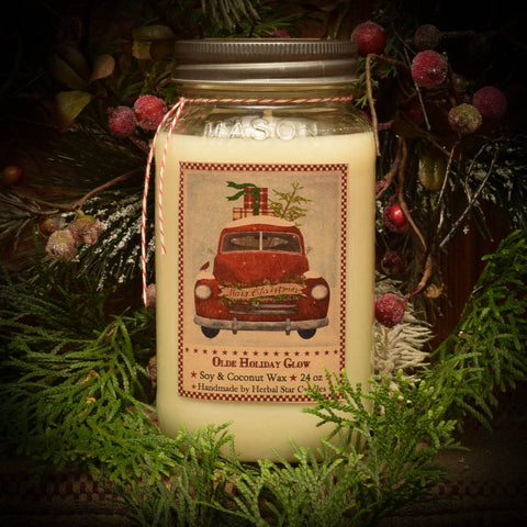 Olde Holiday Glow - 24 oz. Candle
