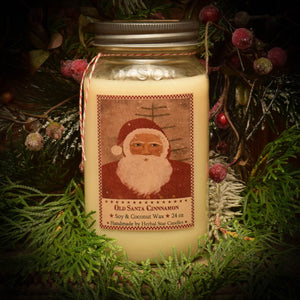 Old Santa Cinnamon - 24 oz. Candle