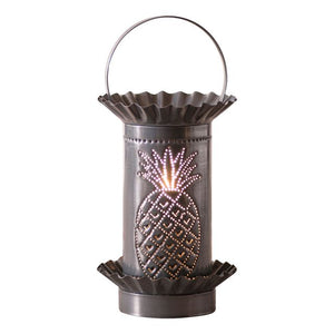 Electric Punched Tin Tart Warmer - Pineapple