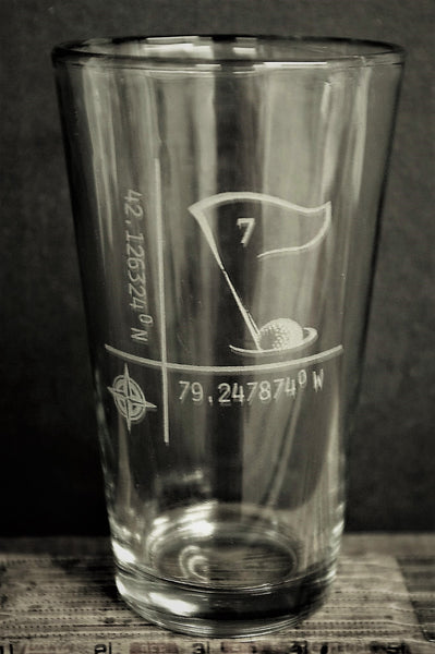 Custom design Pint Glass