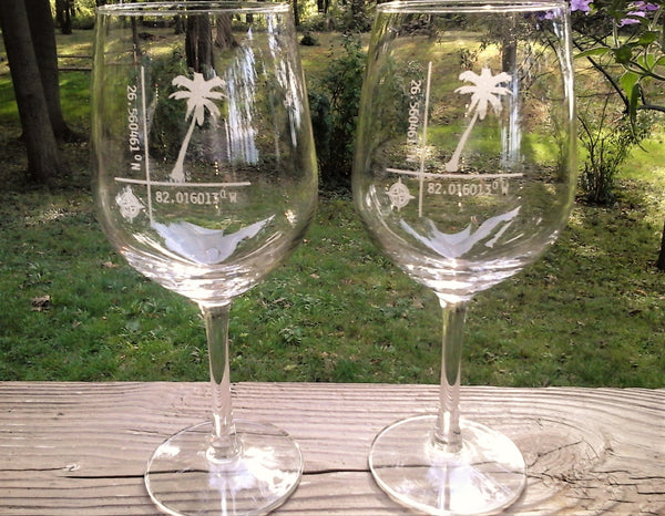 Custom design Stemmed Wine glass