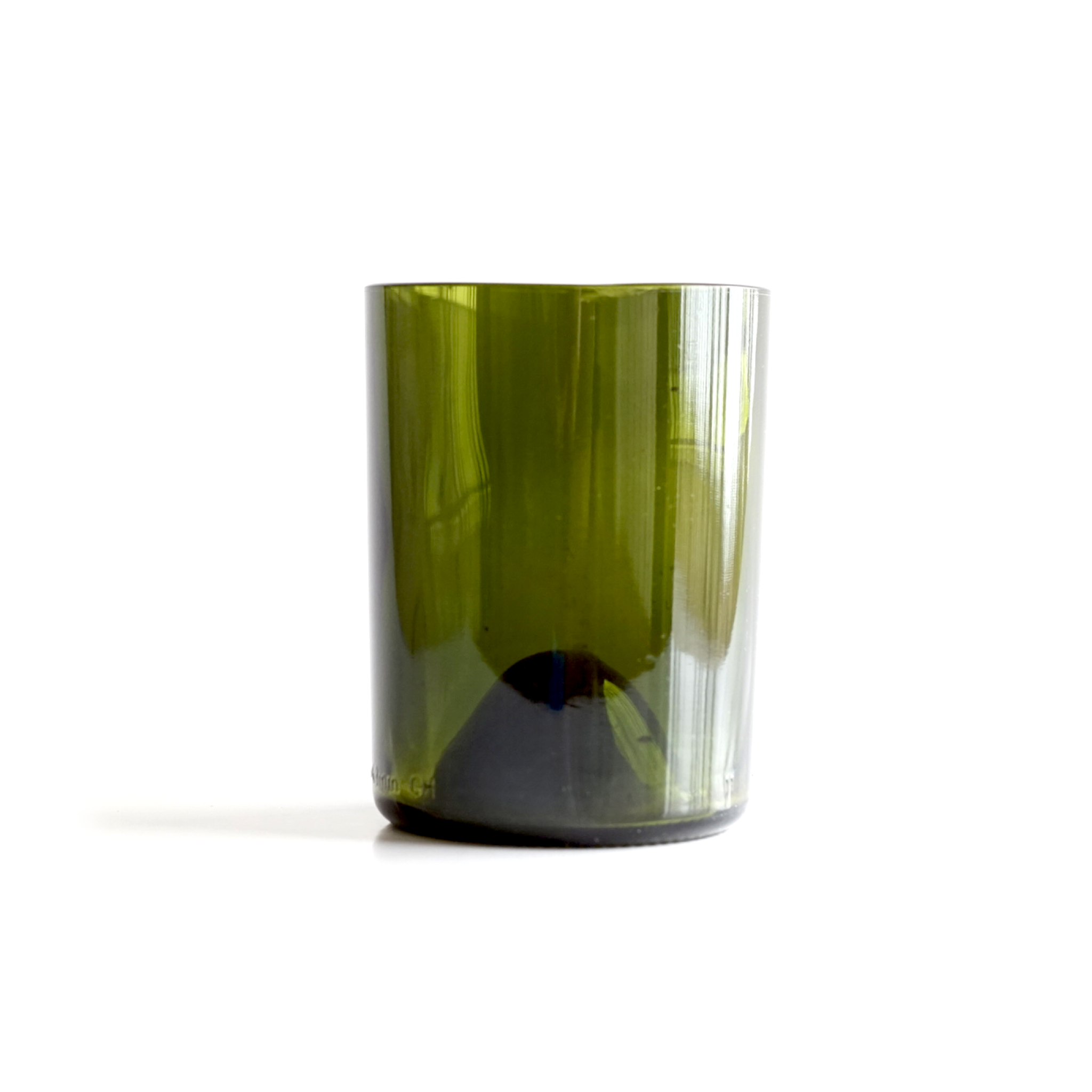 Recycled Green Short Glass