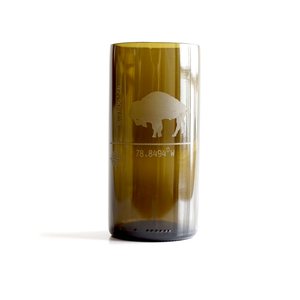 Recycled Brown Glass Tumbler