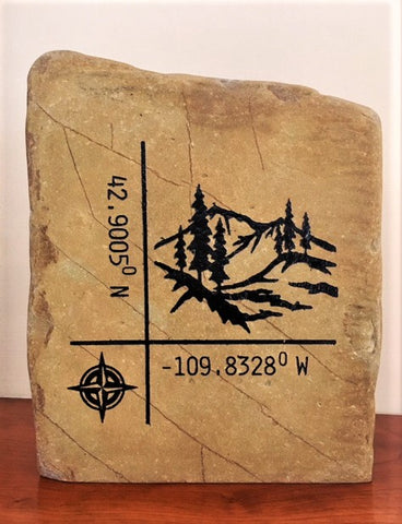Rock Custom Design Engravings~ LARGE