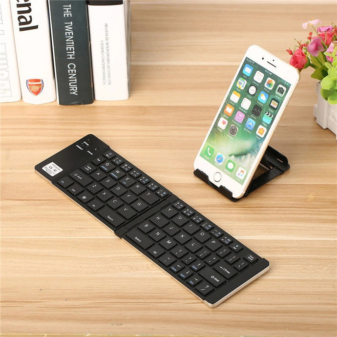 Folding Wireless Bluetooth Keyboard