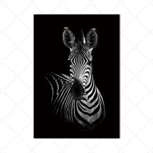 Load image into Gallery viewer, Zebra Alert - Photo African Print