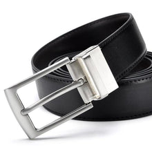Load image into Gallery viewer, sturdy black belt for men up close