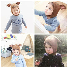 Load image into Gallery viewer, Little Faun Critters Knit Beanie Bonnets