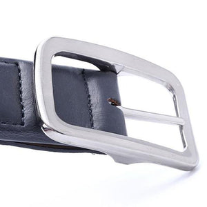 stretch canvas belt buckle view