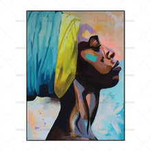 Load image into Gallery viewer, I AM Woman Hear Me Roar - African Painting