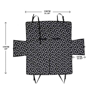 dimensions of hammock car seat cover