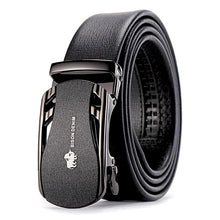 Load image into Gallery viewer, automatic adjustable leather belt