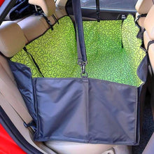 Load image into Gallery viewer, apple green print hammock back seat cover