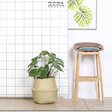 Load image into Gallery viewer, Foldable Natural Seagrass Woven Storage Basket