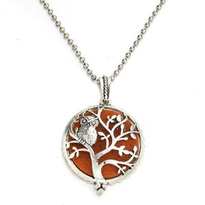 Life Tree Diffuser Necklace