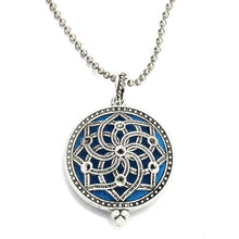 Load image into Gallery viewer, ornate mandala style diffuser necklace