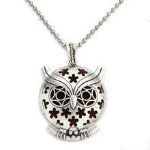 Load image into Gallery viewer, stars on owl style diffuser necklace