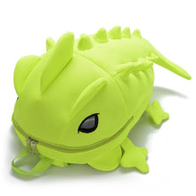 Load image into Gallery viewer, Cammie the Chameleon Kinder Backpack