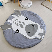 Load image into Gallery viewer, Wild Cuties Crawling Mats -  Round