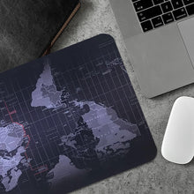 Load image into Gallery viewer, Edgy World Map - Waterproof Gaming Desk Mousepad