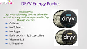 Why Dryv Energy Coffee Pouches?...