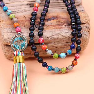 Why you wear Onyx Necklace Chakra Yoga ?