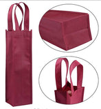 Liquor and wine gift bag, Christmas gift bag, bottle bag, wine tote bag with premium quality  100 Pcs lot