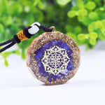 Lapis Lazuli Orgone Pendant For Men And Women Emf Protection Reiki Balancing Orgonite Energy Necklace Meditation Jewelry