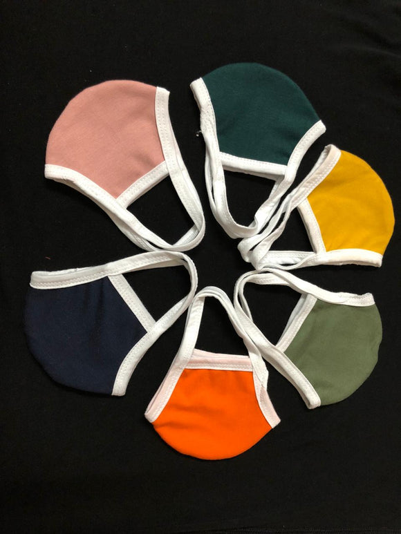 Mask Double Layers Unisex Adult 10 pcs Multi Color