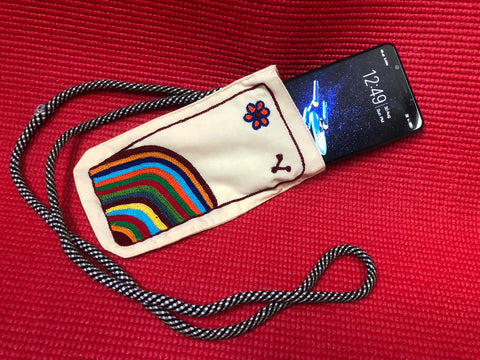 Designer Cotton Handmade Hand Work (Embroidery) Phone Cover $5 per pcs