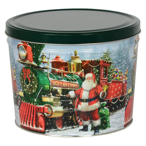 Santa's Holiday Train by Poppington's - Poppington's Gourmet Popcorn