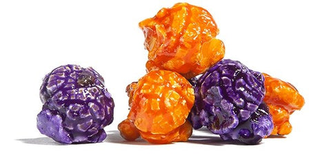 Clemson Color Popcorn -Orange & Purple - Poppington's Gourmet Popcorn