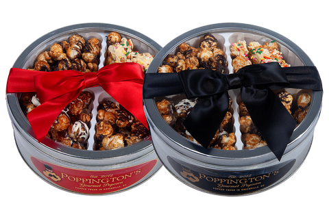 Customize a Chocolate Tin by Poppington's Gourmet Popcorn