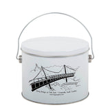 Liberty Bridge Tin Half Gallon