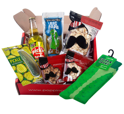 Pickle Addiction Gift Box by Poppington's - Poppington's Gourmet Popcorn