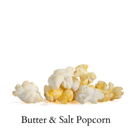 Popcorn Bag-Butter w/Salt & Colored Salt [GREEN, BLUE, PINK SALT] - Poppington's Gourmet Popcorn